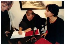 Hrdlicka u Ayoub in Galerie Hilger